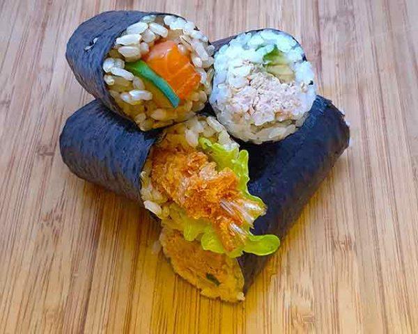Seafood box (4 rolls)