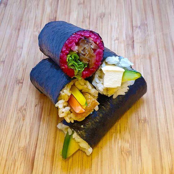 Vegetarian box (4 rolls)