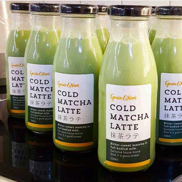 Matcha Latte by Grain and Nori