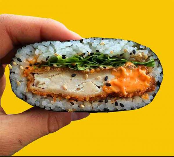 Triple 'S' - Sushi Schitzel Sandwich (2 pieces)
