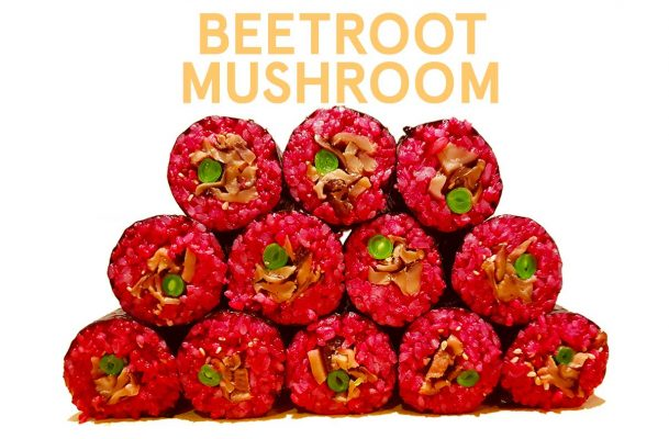 Beetroot and Mushroom
