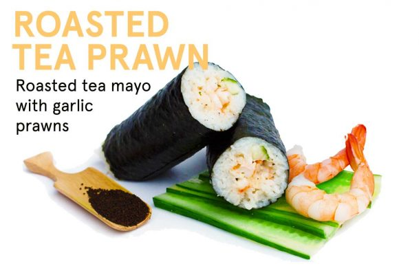 Roasted Tea Prawn